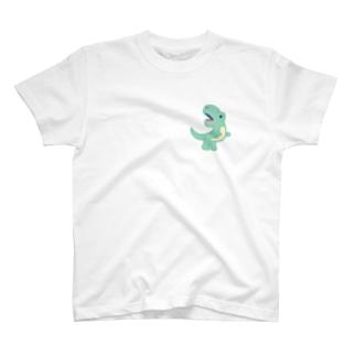 てぃらのさうるす T-shirts