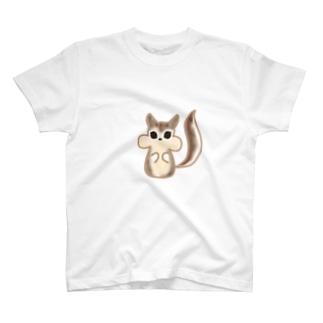 リスちゃん T-shirts
