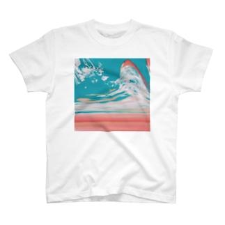夕焼けと空の分岐点 T-shirts