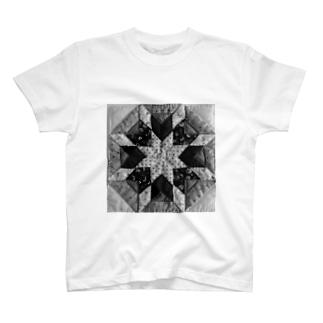 ベツレヘムの星(モノクロ) T-shirts