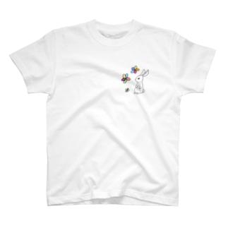 うさぎとはな T-shirts