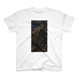 ブッダハンド Tシャツ T-shirts