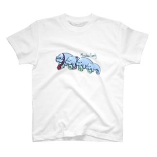 かぞくでマナティー T-shirts
