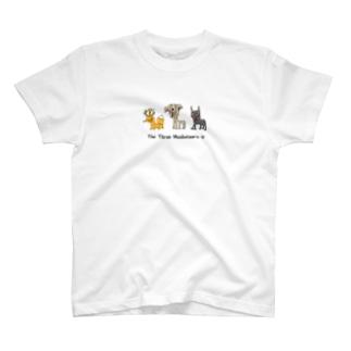 バケモノ三銃士 T-shirts
