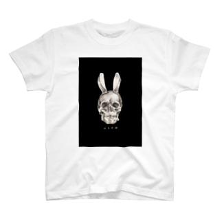 獣化計劃 黒 T-shirts