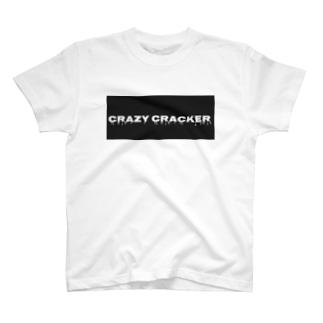 CRAZY CRACKER T-shirts