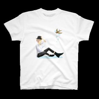 高瀬彩のalbino T-shirts