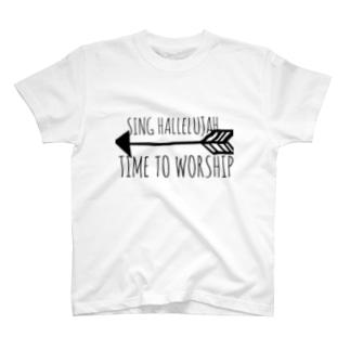 SING HALLELUJAH T-shirts