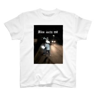 賽は投げられた T-shirts