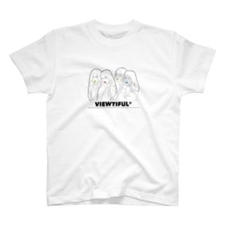 VIEWTIFUL®︎ FORCE T-shirts