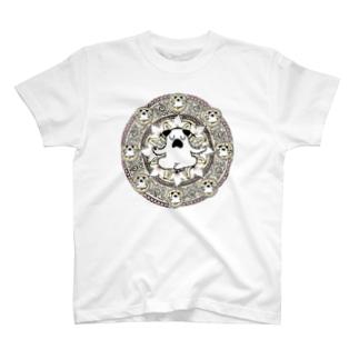 曼荼羅ぷーやん(黄) T-shirts