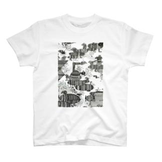 モジョ船に乗るよ T-shirts