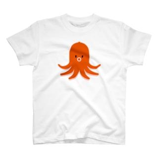 Octopus shape sausage / タコさんウインナー T-shirts