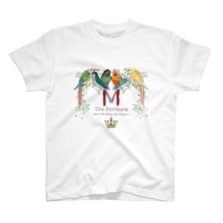 ホオミドリウロコちゃんず T-shirts