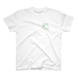 犬チャウチャウ T-shirts