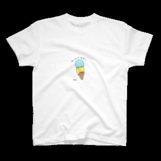TABEMONOのHINYARI AISU T-shirts