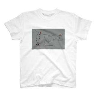 物干しキャット T-shirts