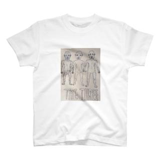 THE THREE T-shirts