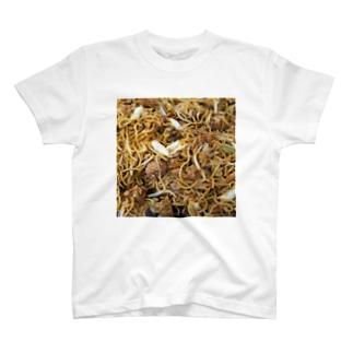 魅惑のやきそば丁シャツ T-shirts