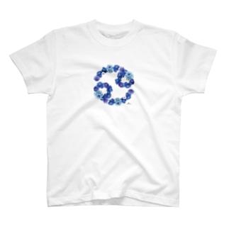星花かに座 T-shirts