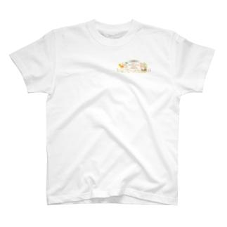 ピッフィー&パッピィー ワンポイント T-shirts