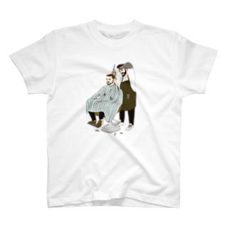 リスボンの床屋さん T-shirts