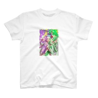 阿修羅像のあしゅらちゃん T-shirts