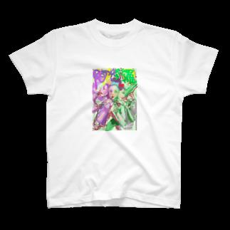 tanuuお迎え中の阿修羅像のあしゅらちゃん T-shirts