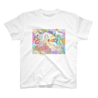 眠眠 T-shirts