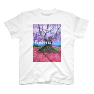 大藤 from flower park T-shirts