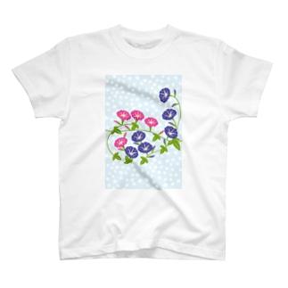 朝顔の花 T-shirts
