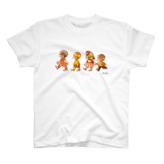 お弁当のきょうだい T-shirts