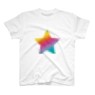 少し荒いホシ T-shirts
