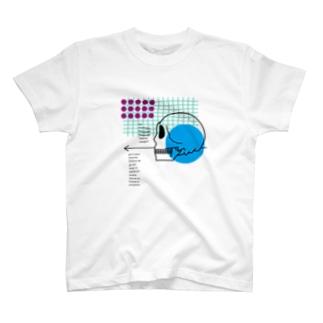 骸骨と私 T-shirts