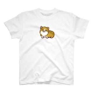 どうぶつのコーギー T-shirts