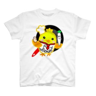 鶏肉大根大豆ちゃん T-shirts