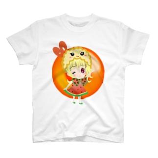 ウインク姫 めしあがれ T-shirts