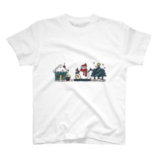 冬の風物詩 T-shirts
