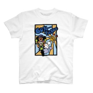 『探偵ゴン』 ゴン太郎 公式グッズ T-shirts
