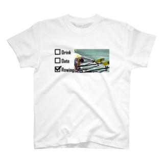 酒<女<<ボート T-shirts