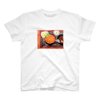 ウニ丼相撲 T-shirts