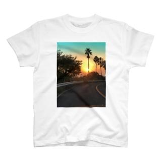 サンセットver.秋空 T-shirts