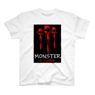 エルゴモンスター T-shirts