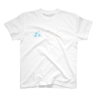 北風と太陽と月 T-shirts