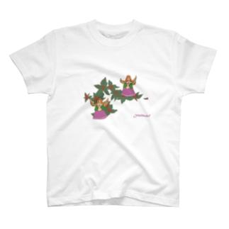 あ・ウン。クリスマス T-shirts