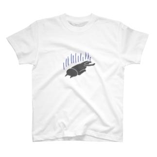 へこむネコ T-shirts