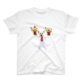 猫福2 T-shirts