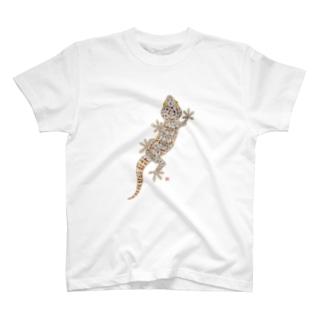 トッケイヤモリ T-shirts