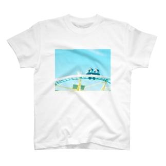 ジェットコースター T-shirts