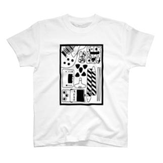 けいおんがくぶ T-shirts